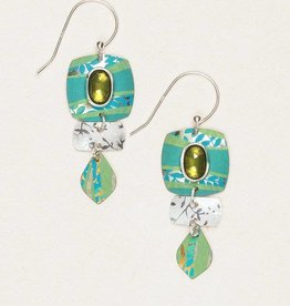 Holly Yashi Verdant Green Pure Harmony Earrings