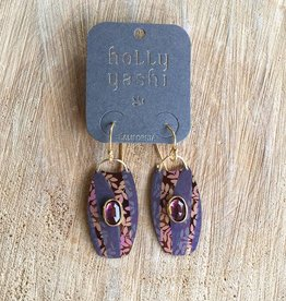 Holly Yashi Cocoa/Amber Wanderlust Earrings