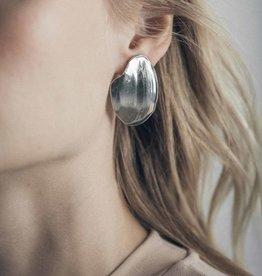 Anne Marie Chagnon Papaga Earring Silver