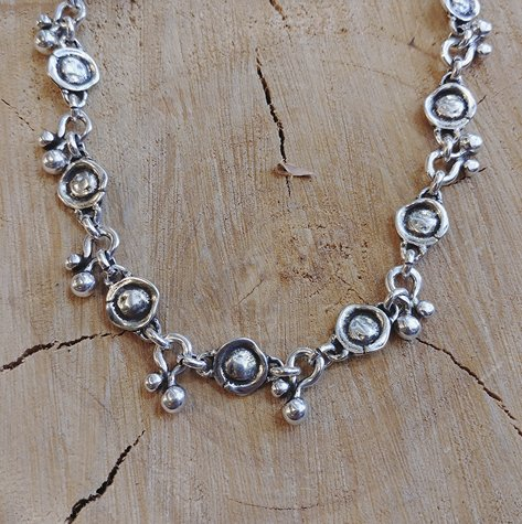 Ciclón Ciclon Necklace Metal