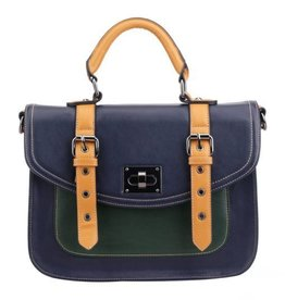 Pixie Mood Steph Bag- Navy and Mustard