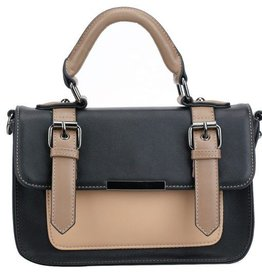 Pixie Mood Mini Steph Bag- Black and Tan