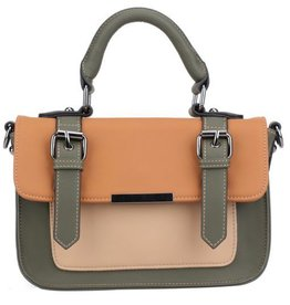 Pixie Mood Mini Steph Bag- Green and Orange