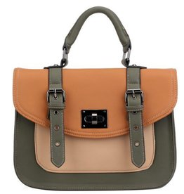 Pixie Mood Steph Bag- Green and Orange