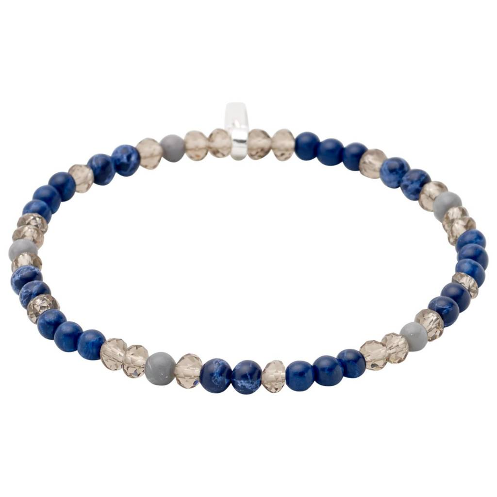 Pilgrim Pilgrim Pearl and Stone Bracelet