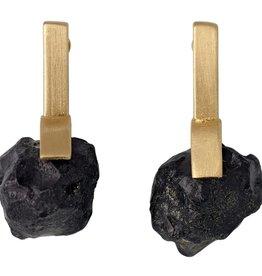 Pilgrim Pilgrim Hematite Drop Earring