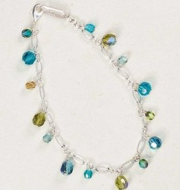 Holly Yashi Holly Yashi Aqua Confetti Bracelet