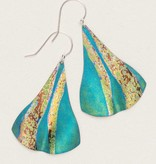 Holly Yashi Holly Yashi Teal Sea Sprite Earrings