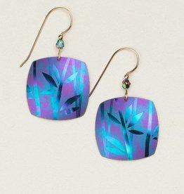 Holly Yashi Holly Yashi Kestrel Earrings: Turquoise/Purple