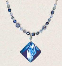 Holly Yashi Blue Desert Painter Necklace
