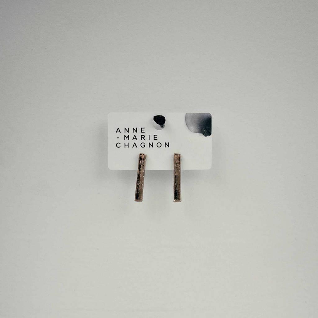 Anne Marie Chagnon Bronze Calim Earring