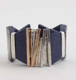 Anne Marie Chagnon Vendavel Bracelet Denim