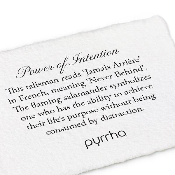 "Pyrrha Pyrrha- Power Of Intention 18"""