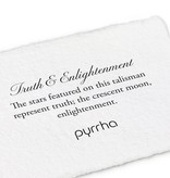 "Pyrrha Pyrrha 14 kt Truth and Enlightenment on 18"" Chain"