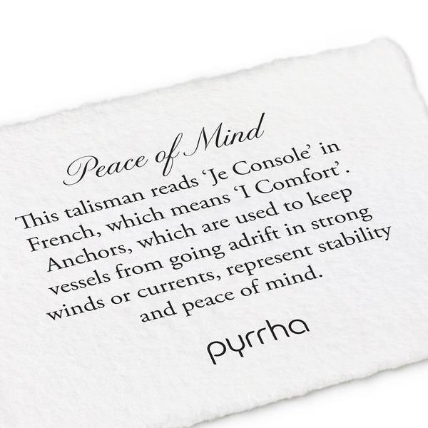 "Pyrrha Pyrrha Peace of Mind 18"""