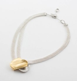 Anne Marie Chagnon Lupra Gold Necklace