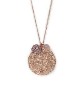 Pilgrim Rose Gold Angelina Necklace