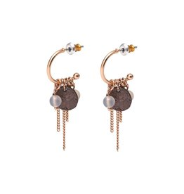 Pilgrim Rose Gold Angelina Earring