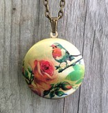 Liberty & Love Liberty & Love Locket- Birdie and Rose
