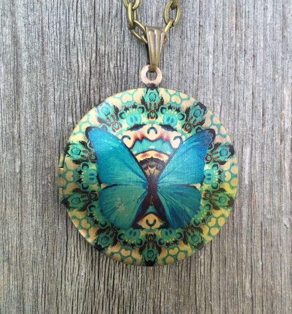 Liberty & Love Liberty & Love Locket- Butterfly