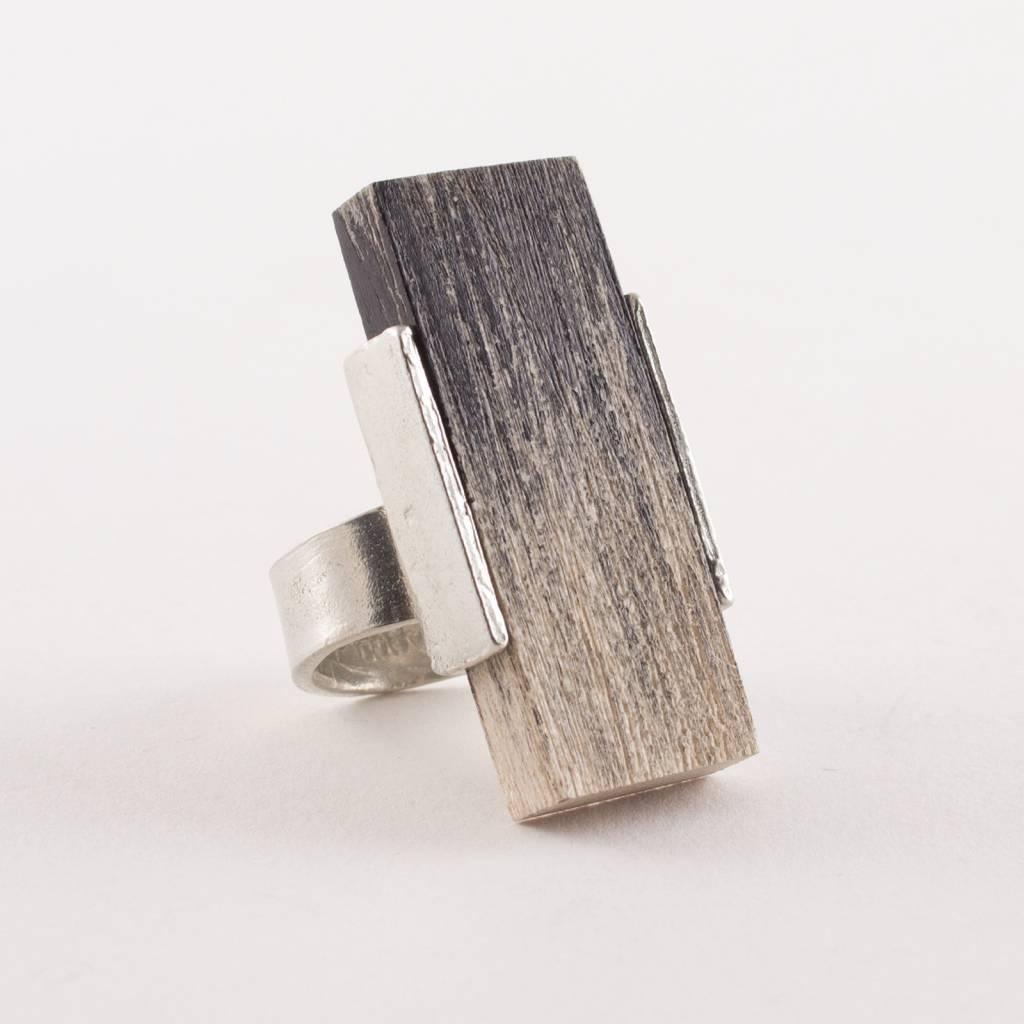 Anne Marie Chagnon Coal Savory Ring