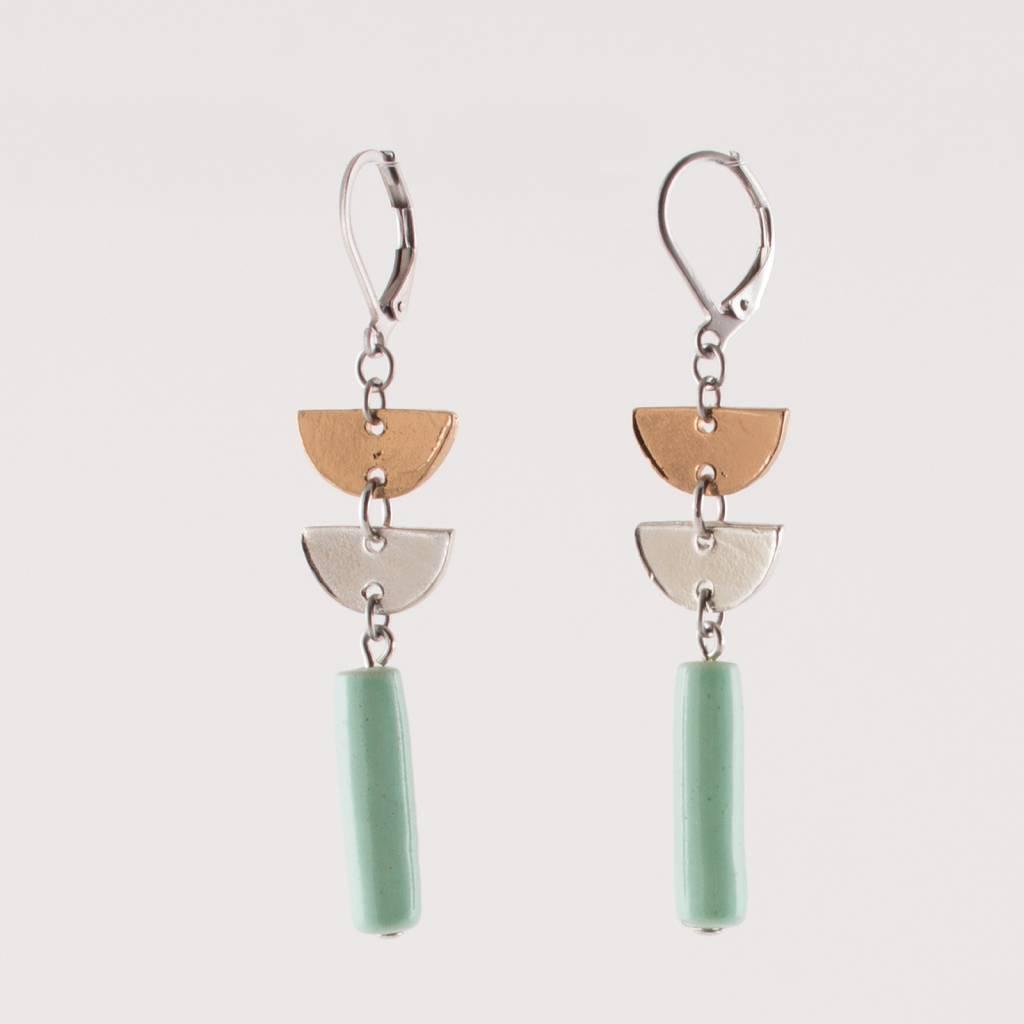 Anne Marie Chagnon Mint Lyco Earring