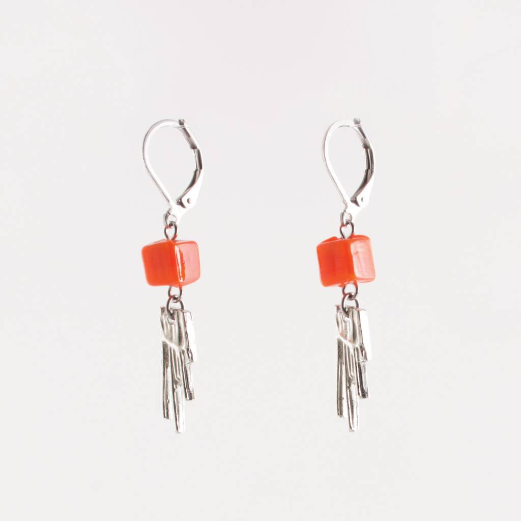 Anne Marie Chagnon Orange Bilimbi Earring