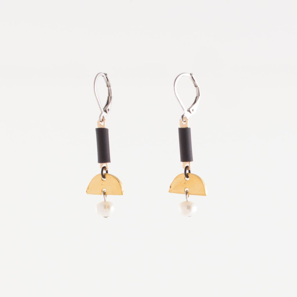 Anne Marie Chagnon Gold Coco Earring