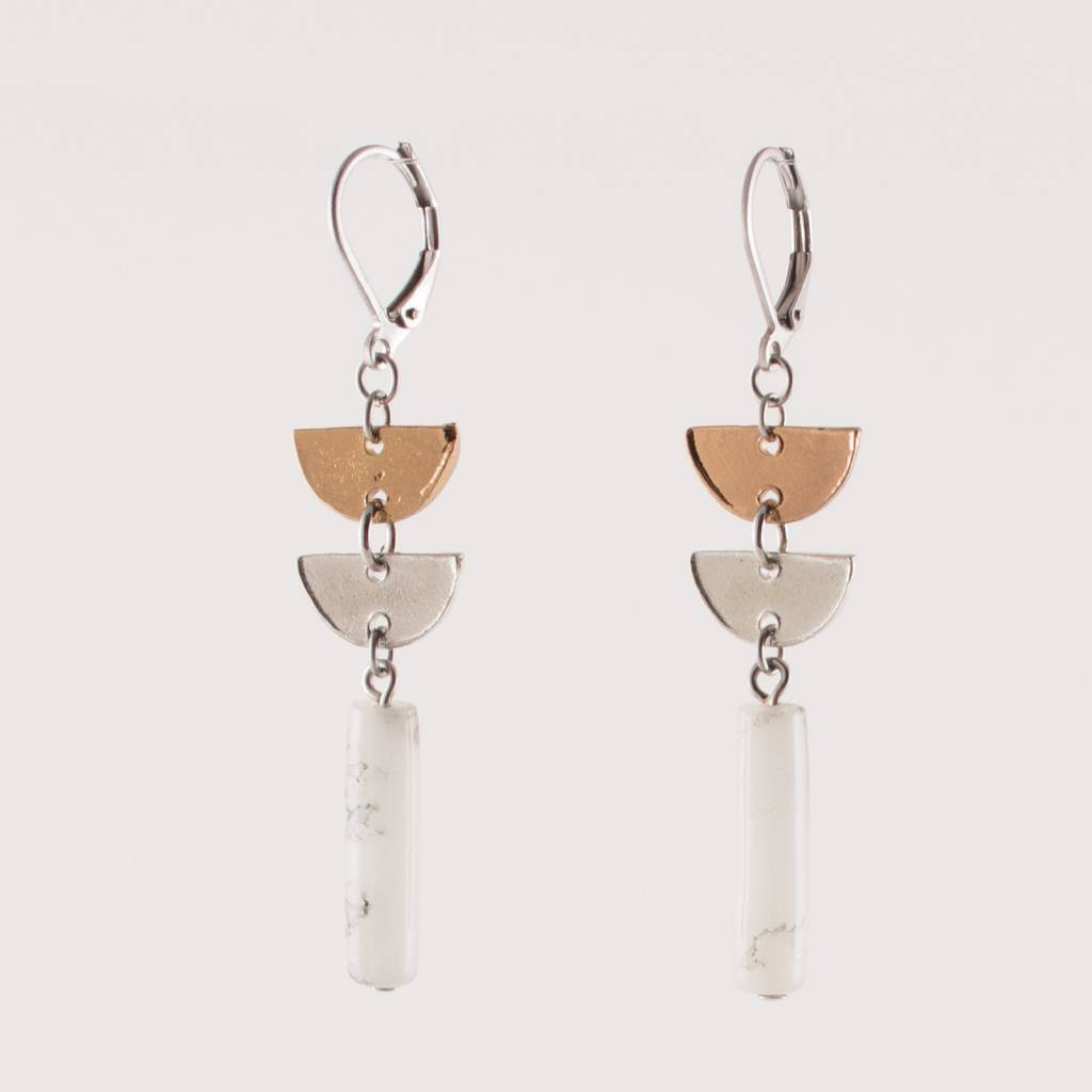 Anne Marie Chagnon Marble Lyco Earring