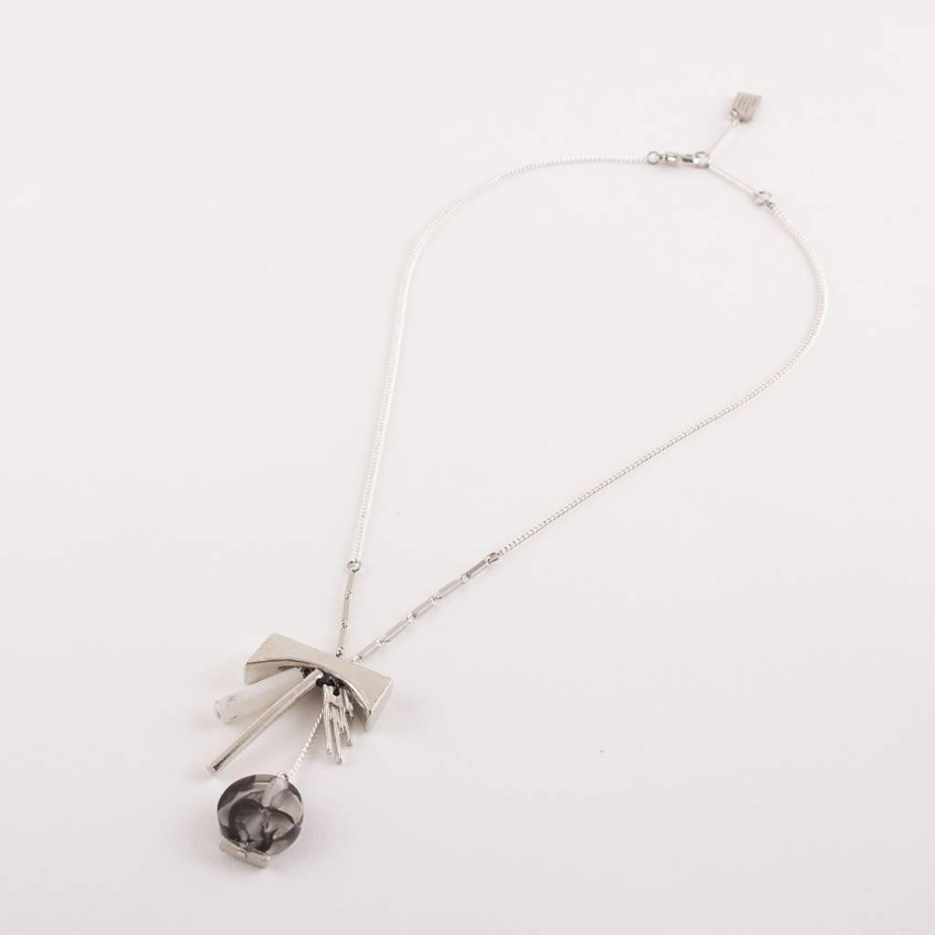 Anne Marie Chagnon AMC Fasia Necklace- Marble