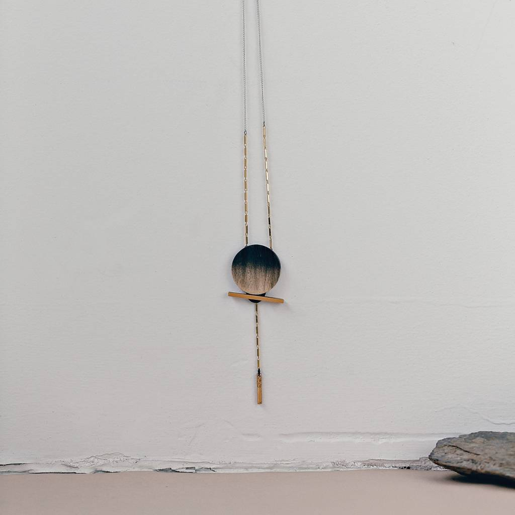 Anne Marie Chagnon AMC Holly Necklace- Coal