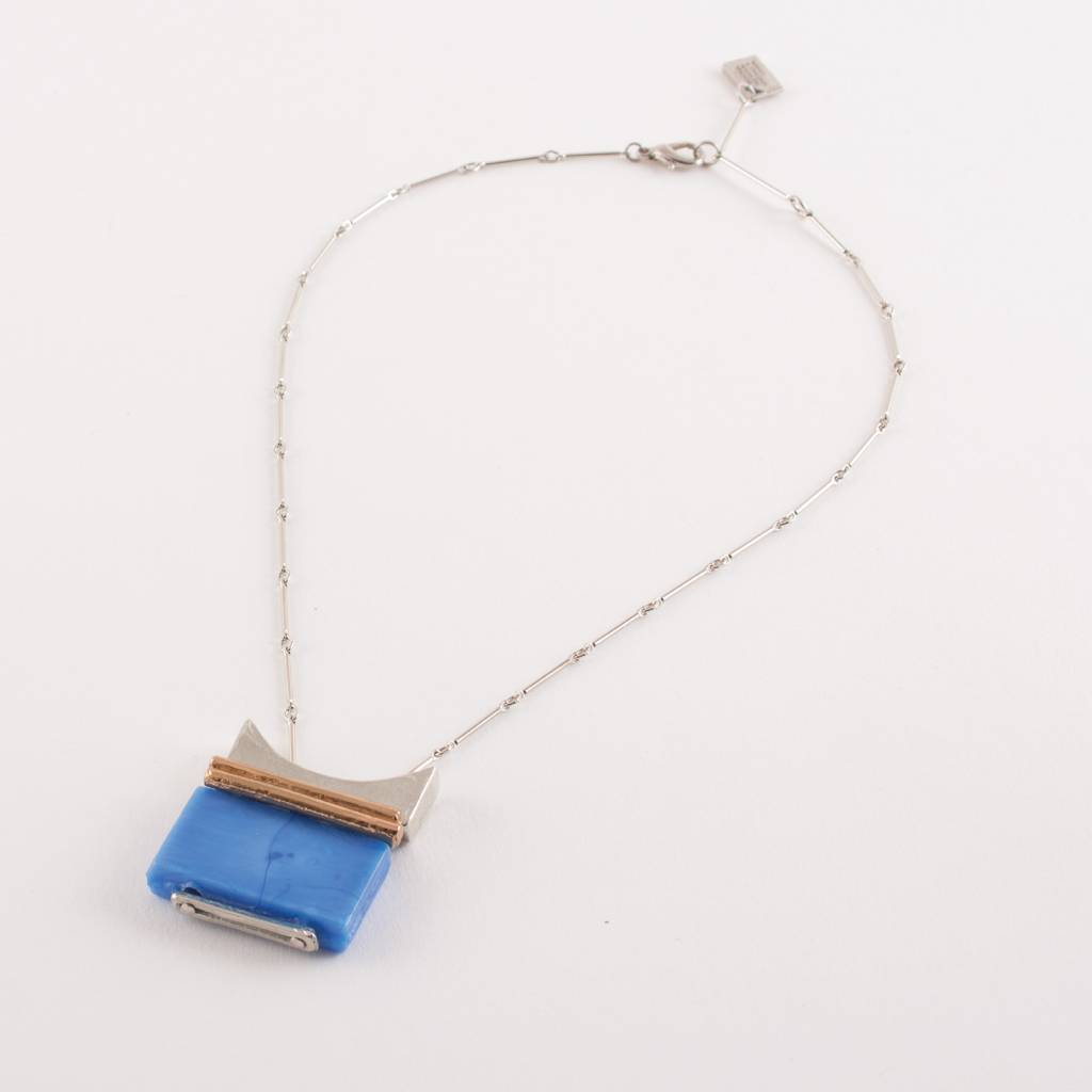 Anne Marie Chagnon AMC Filao Necklace- Azur