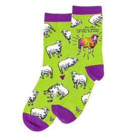 Rainbow Sheep - WIT! Socks