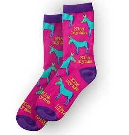 Kiss My Ass - WIT! Socks