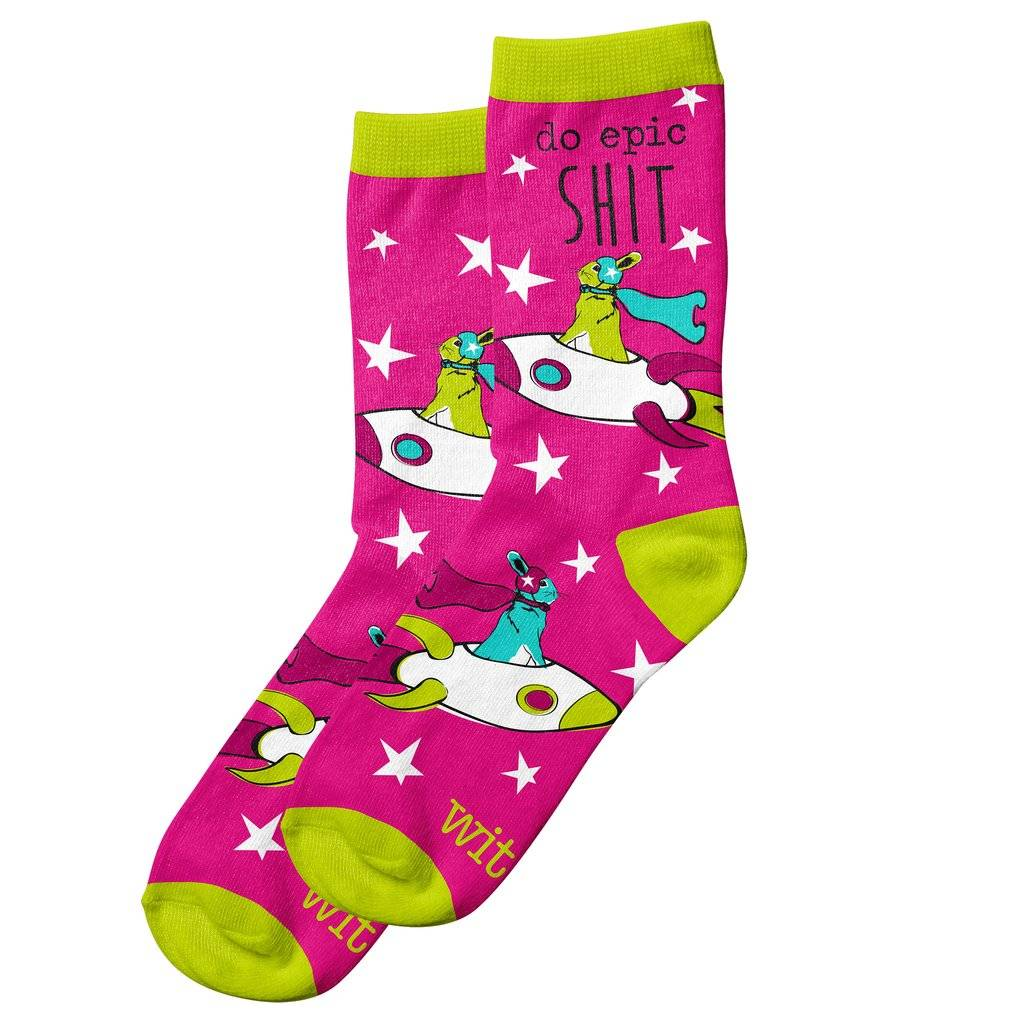 Do Epic Shit -WIT! Socks