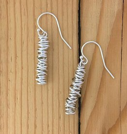 Dianne Rodger Sterling Twist Earring