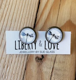 Liberty & Love L&L Studs- Dragonfly