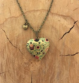 Liberty & Love Liberty & Love Locket- Owl Print