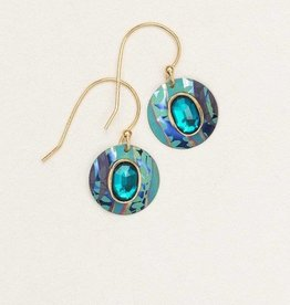 Holly Yashi Teal Mistral Earrings