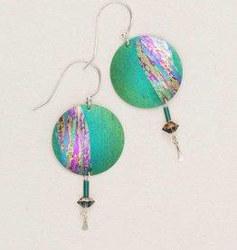 Holly Yashi Green Hidden Cove Earring
