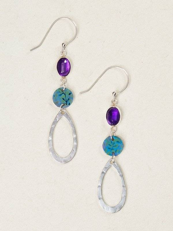 Holly Yashi Holly Yashi Amethyst Alicia Earrings
