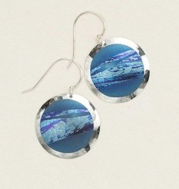 Holly Yashi Blue Open Sea Earring