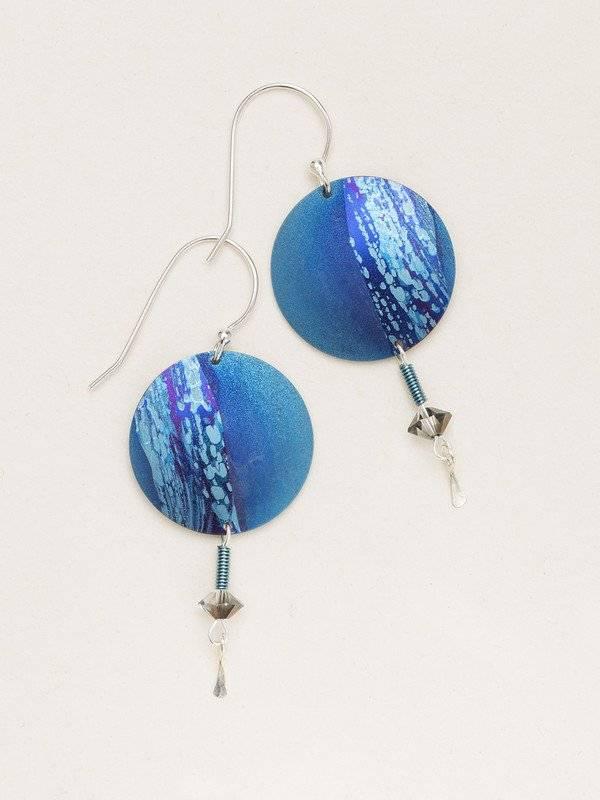 Holly Yashi Blue Hidden Cove Earring