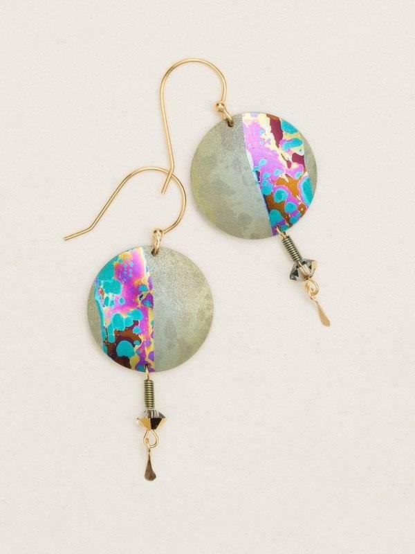 Holly Yashi Sage Hidden Cove Earring
