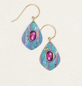 Holly Yashi Turquoise/Orchid Salma Earring