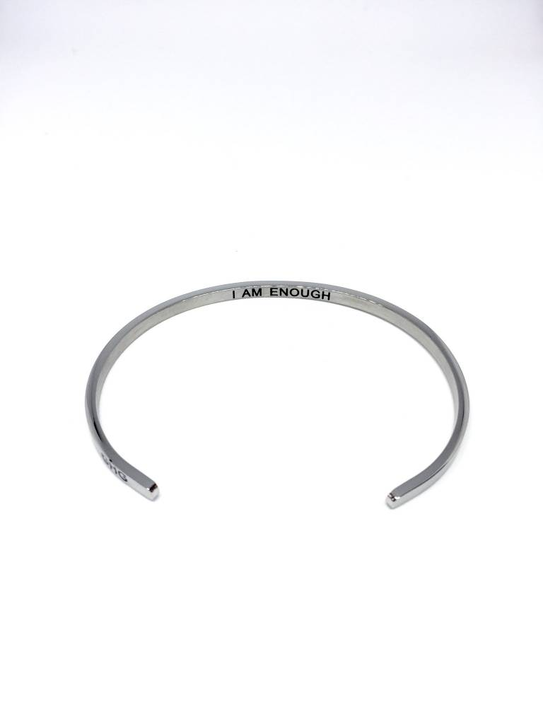 Glass House Goods Inner Voice Bangle: You Are Enough