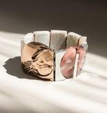 Anne Marie Chagnon Wala Roe Bracelet- Clay