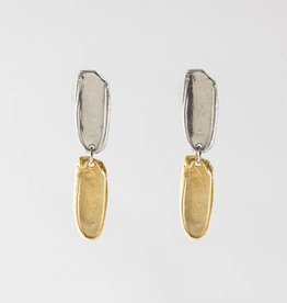 Anne Marie Chagnon Maple Earring- Gold