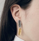 Anne Marie Chagnon Maple Earring- Gold