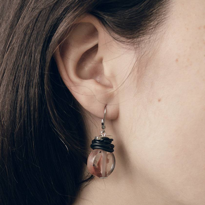 Anne Marie Chagnon Mau Earring- Rose Clay